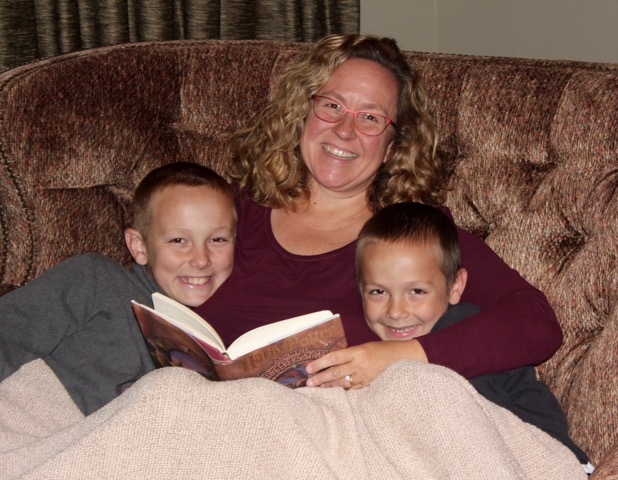 Beth and her two boys